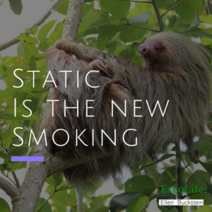 What the healthiest working posture? - static is the new smoking